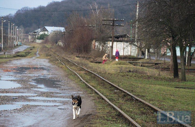 Боржавская узкоколейная железная дорога - в народе называется «Анка Кушницкая»