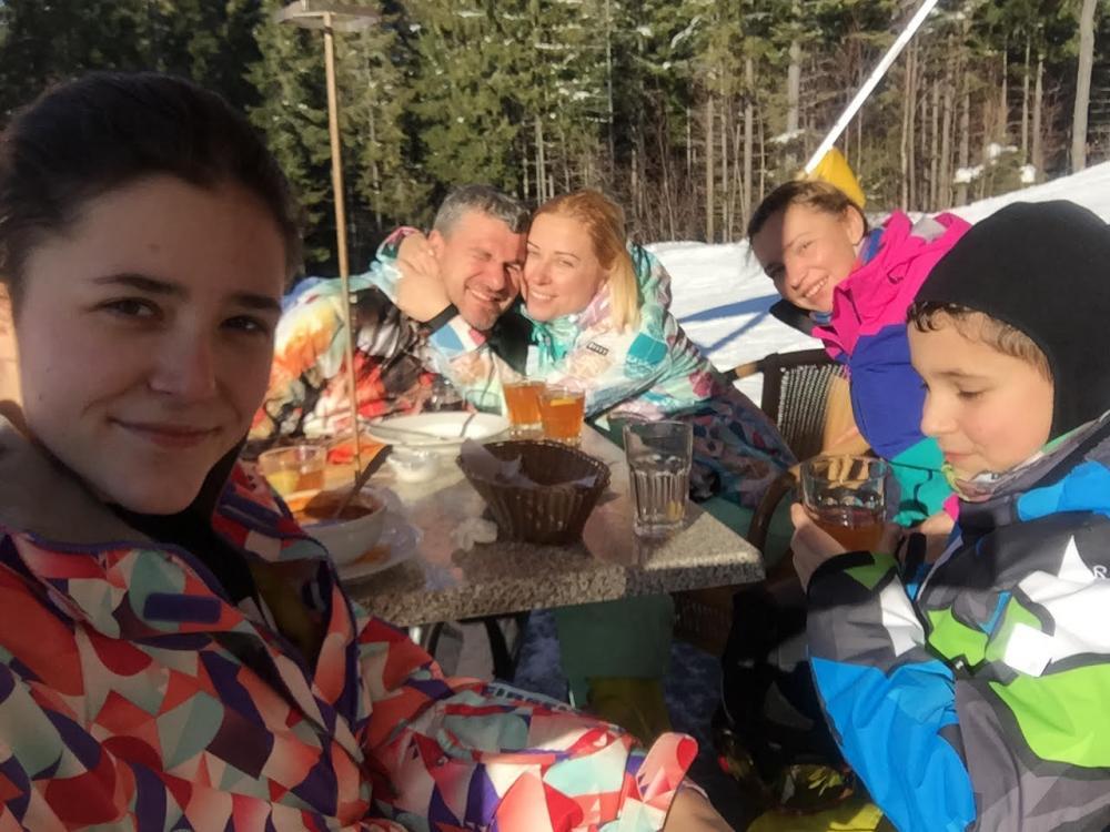Тоня Матвієнко та Арсен Мірзоян відпочили в Карпатах