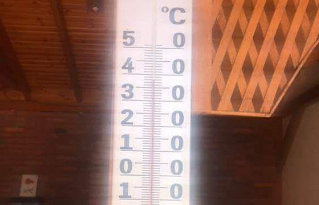 В Закарпатье термометры показывают больше 45+ градусов