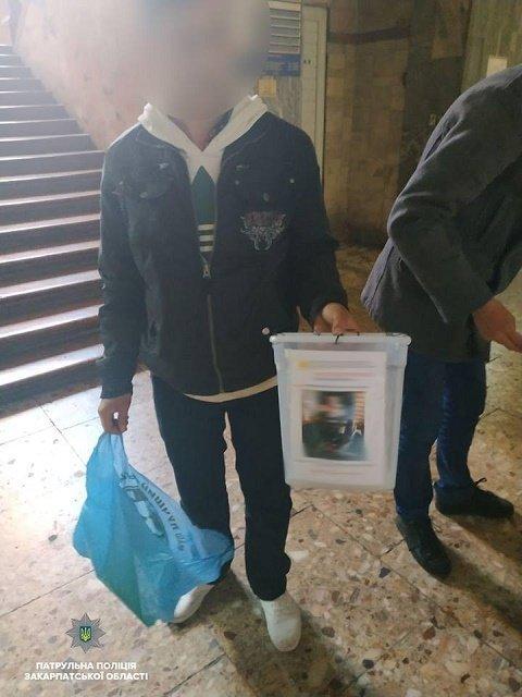 Бдительный житель Мукачево разоблачил липовых волонтеров