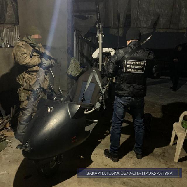 """В Закарпатье дельтапланерист, пойманный """"на горячем"""" пошел на сделку с прокурором"""