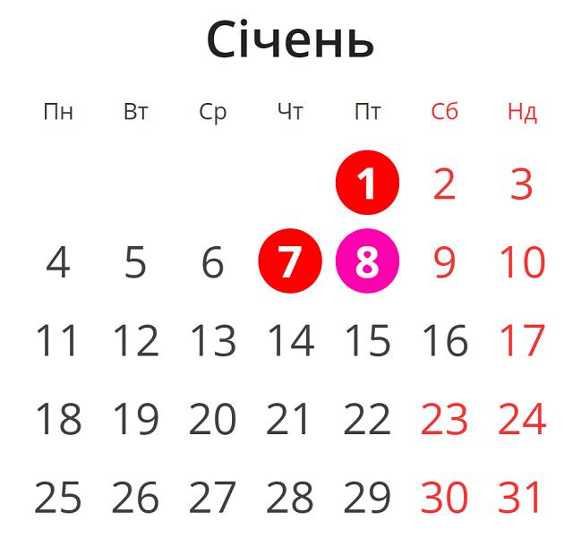 Как украинцы будут отдыхать на Новый год и Рождество 2021