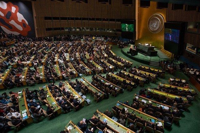 Президент Зеленский принял участие в открытии 74-й сессии Генеральной ассамблеи ООН