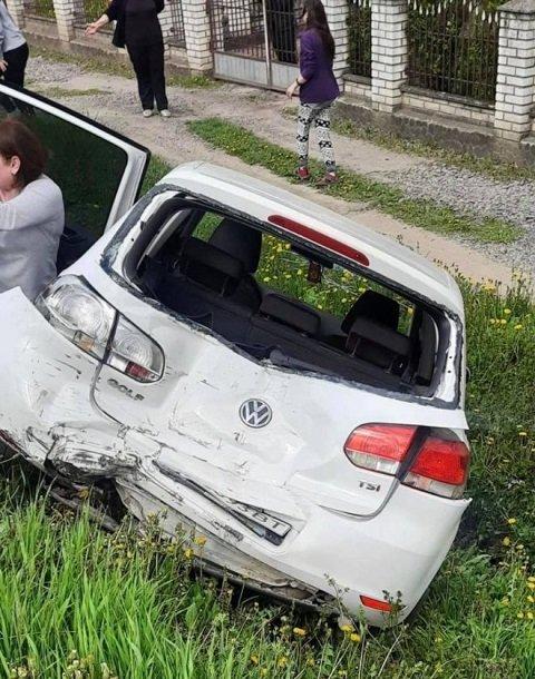 Авария произошла в городе Свалява.