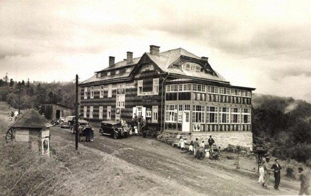 Отель «Sport» на Ужоцком перевале, 1940 год