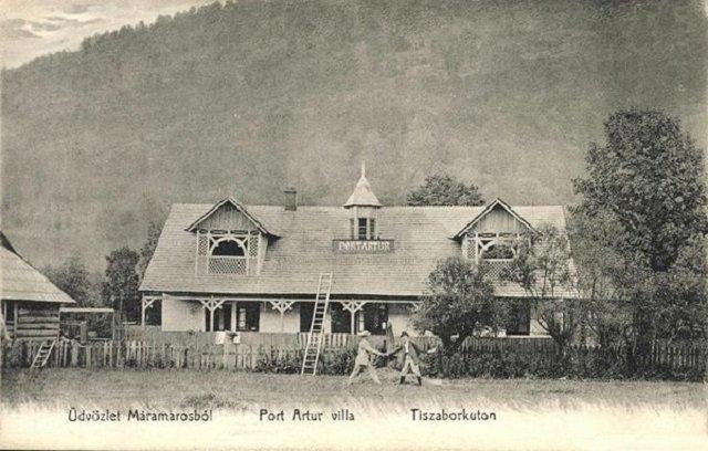 "Вилла ""Порт Артур"", 1908 год"