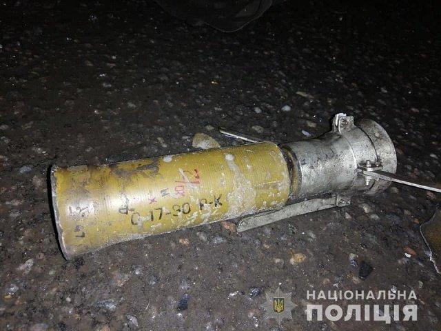 """Выстрел из противотанкового гранатомета по """"Toyоta"""" обошелся без смертей"""