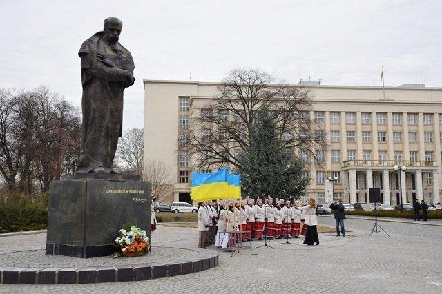 Тарасу Шевченко - 205: Закарпатцы чтят память Великого Кобзаря