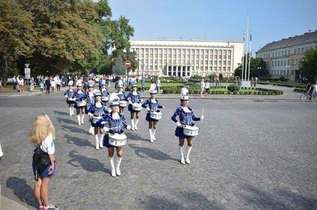 Как Ужгород отметил День Государственного флага и 28-ю годовщину Независимости