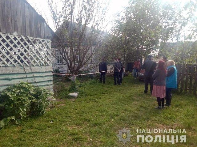 Вот такой разгул криминала в глухих украинских сёлах.