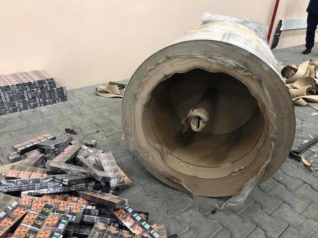 Пограничники разоблачили преступную схему: Обнаружили контрабандный канал и крупную партию сигарет