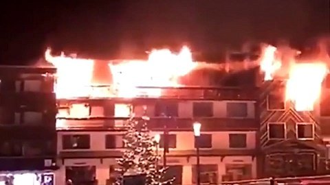 Пожар на самом престижном горнолыжном курорте мира: двое погибших, десятки пострадавших