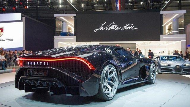 Bugatti презентовала самый дорогой в мире суперкар за 11 млн. евро