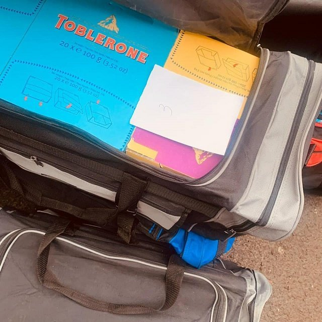 """Через """"зеленый коридор"""" на КПП Ужгород контрабандист пытался провезти 174 кг шоколада"""