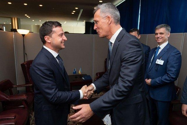 Президент Зеленский в Нью-Йорке провел первые встречи