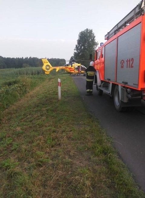 В Польше Nissan влетел в бус с украинцами, авто в кювете, в больнице 10 человек
