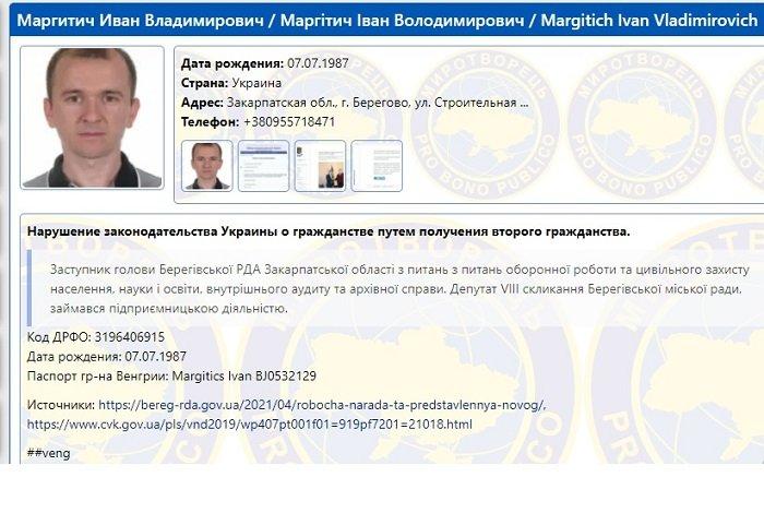В Закарпатье чиновника уволили из-за венгерского гражданства