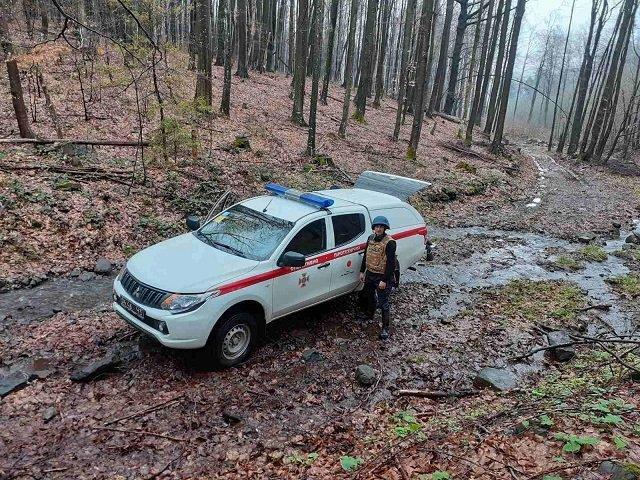 Опасные находки в лесу обнаружили жители Закарпатья