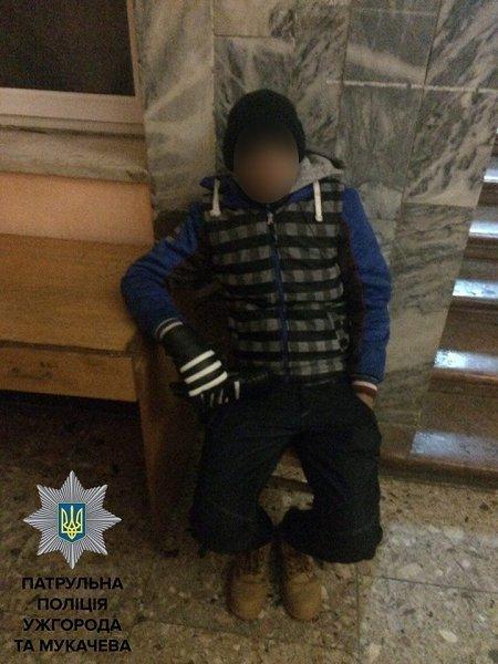 В Мукачево задержали пьяного перевозчика с нелегалами