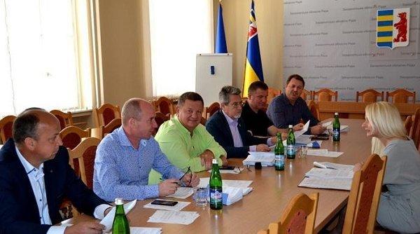 В Закарпатском облсовете изучали материалы второго пленарного заседания
