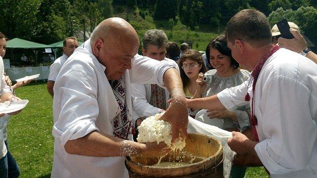"""На Закарпатье проходит юбилейный фестиваль """"Риплянка"""""""