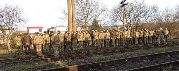 Военные 128-й бригады из Закарпатья уже находятся дома