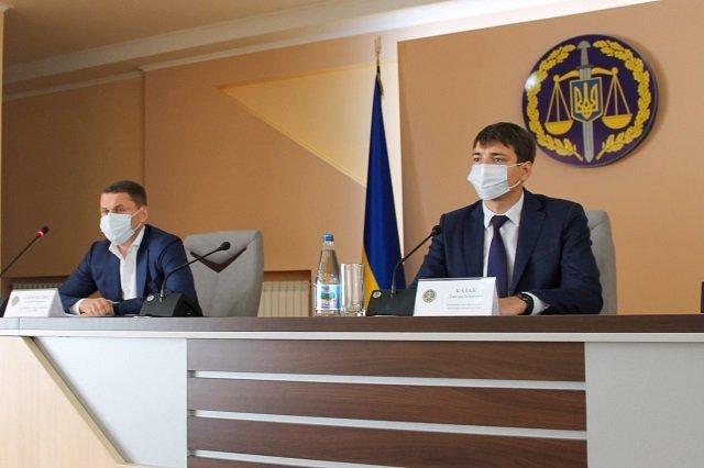 Областную прокуратуру в Закарпатье возглавил 31-летний харьковчанин, Дмитрий Казак