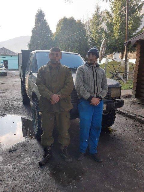 В Закарпатье пограничники охотились на контрабандистов