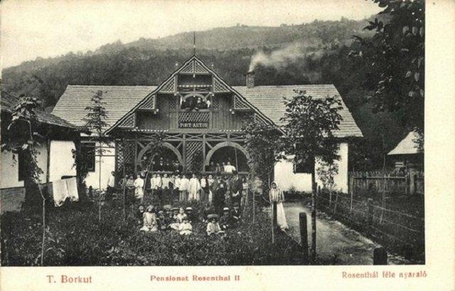 Пансионат Розенталя, 19 век