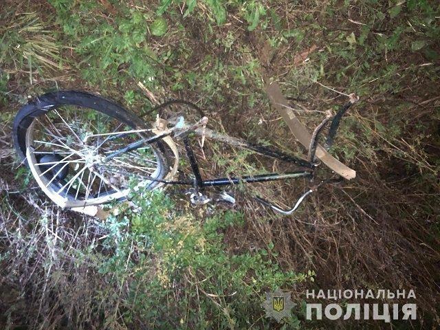 Авария в Закарпатье: Hyundai Santa FE сбил велосипедиста