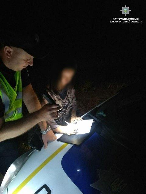 """В областном центре Закарпатья в течение ночи остановили троих нетрезвых """"ездунов"""""""