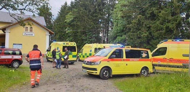В Чехии в столкновении двух пассажирских поездов пострадало около 30 человек, есть погибшие