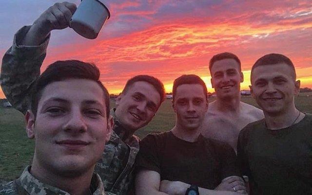 Погибшие в крушении под Харьковом курсанты