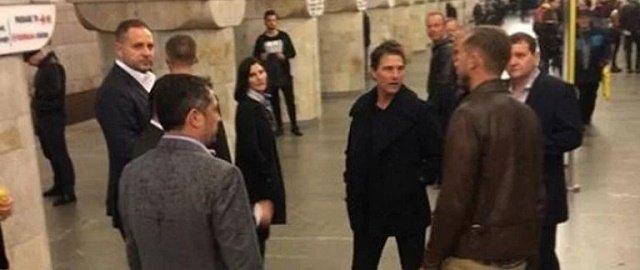 Зеленский встретился с голливудским актером Томом Крузом