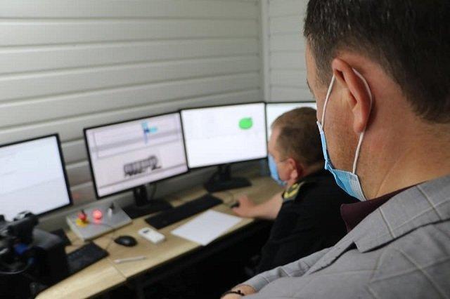 На КПП «Ужгород» в Закарпатье проверили работу стационарного сканера