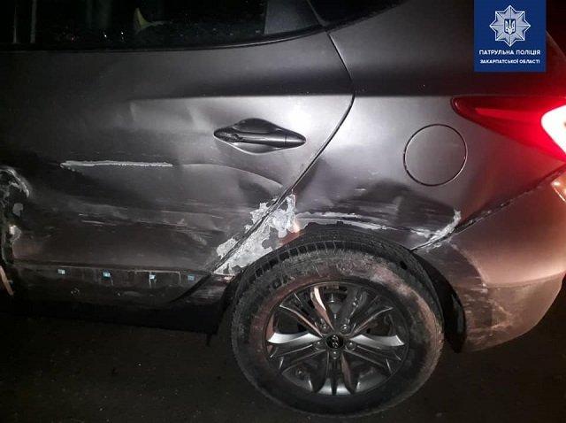 ДТП в Закарпатье: Водитель при обгоне врезался в иномарку и скрылся, полиция ищет очевидцев