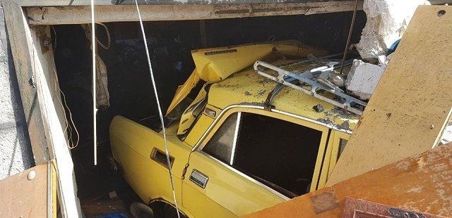 Взорвавшийся баллон в авто разрушил полдома недалеко от Свалявы