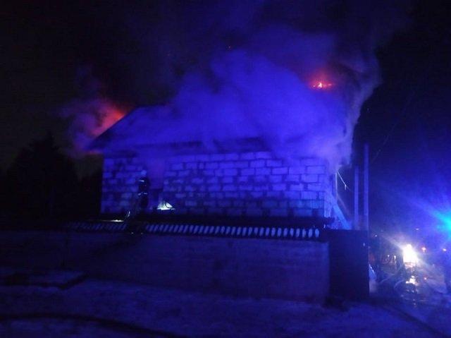 Загорелась хозпостройка: В Закарпатье спасатели потушили пожар на территории частного дома