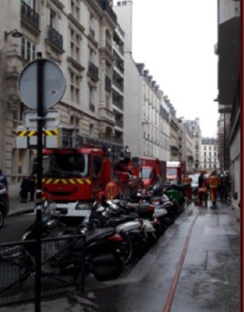 Крупнейший пожар в Париже за 13 лет тушили более 5-и часов