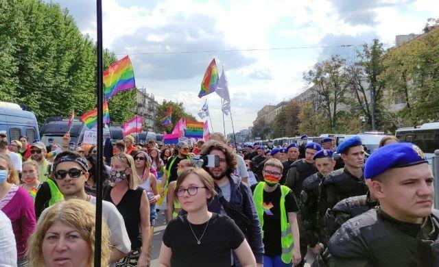 Гей-парад прошел в Харькове
