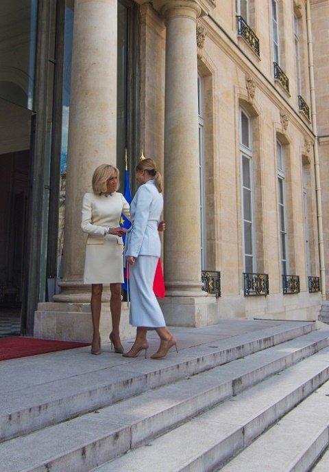 Елена Зеленская рассказала первой леди Франции о своих замыслах