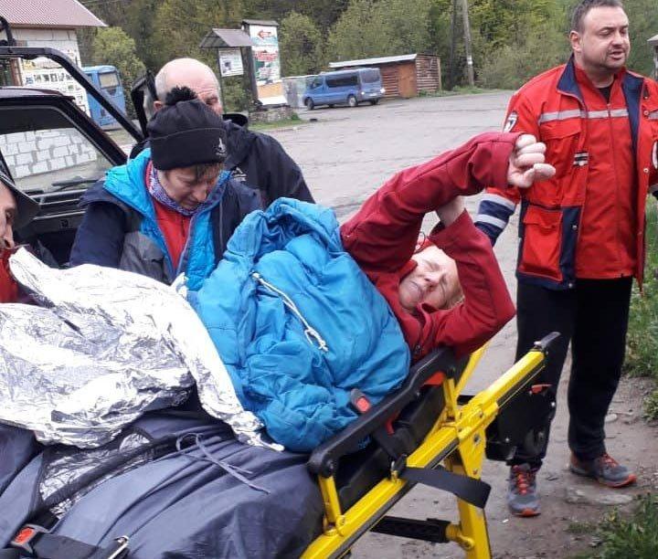 В Закарпатье иностранку с подругой искали больше 10 спасателей