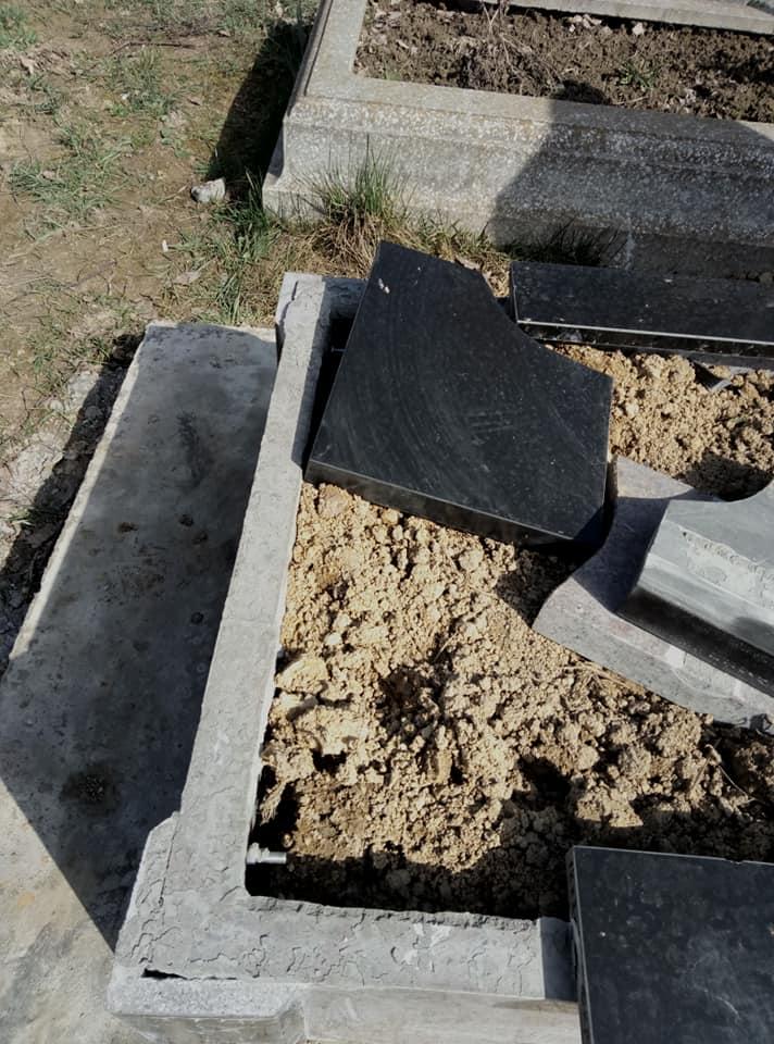 В Закарпатье неизвестные разрушили дорогостоящие памятники