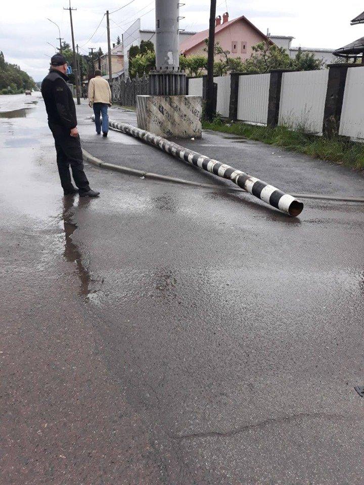 В Закарпатье разыскивали водителя-вредителя