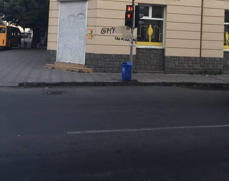 В Закарпатье детям рекламируют наркотики через граффити