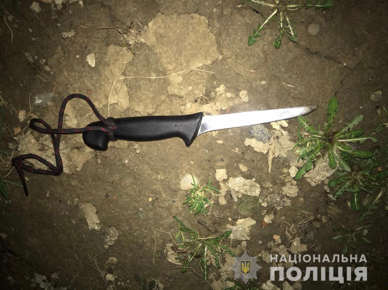 В Закарпатье всадили нож в грудь молодой девушки