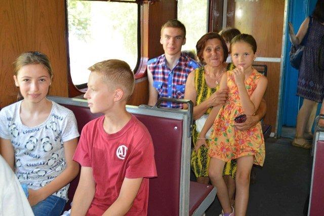 В Иршаве запуск Боржавской узкоколейки вызвал настоящий ажиотаж