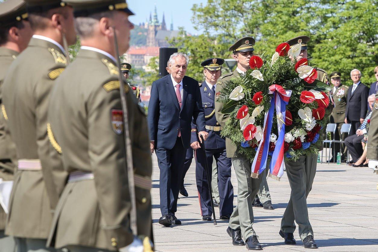Годовщина окончания Второй мировой войныотмечается в Чехии