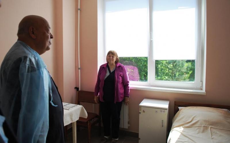 Терапевтичне відділення МКЛ м.Ужгород жодного разу капітально не ремонтувалося