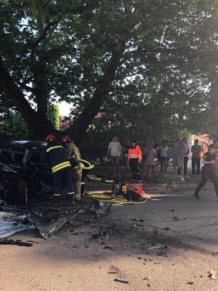 В соцсетях всплывают все больше новых подробностей об вечерней аварии на Закарпатье
